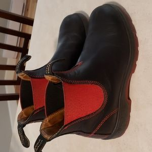 Blundstones with Rare Red Soles